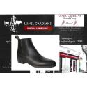 modèle boots 1701 noir bout affiné