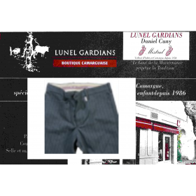 "Pantalon  Gardian""MISTRAL""coutil  rayure gd pére"