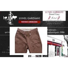 Pantalon de Gardian Extensiible Marron-