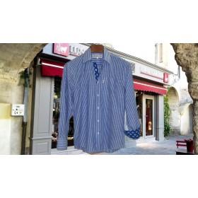 Chemise Saint-Tropez Rayure Azur