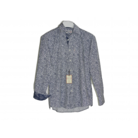 Chemise gardian Coromandel Bleu marine/blanc