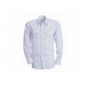 Cuemise Gardian Salicorne Blanc / Bleu