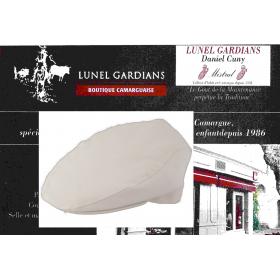 casquette camargue  blanche