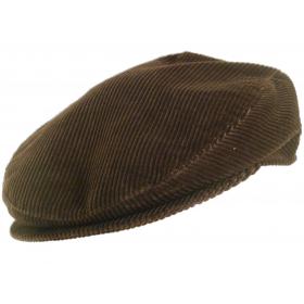 casquette camargue velours cordelet marron