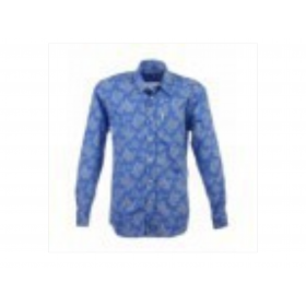 Chemise Homme voile Bengale Azur 1 poche