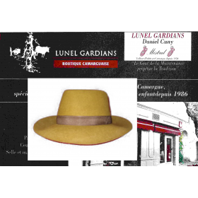 chapeau gardian petit bord-loutre
