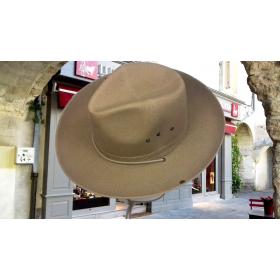 Chapeaux Toile Pampa Beige-Foncé