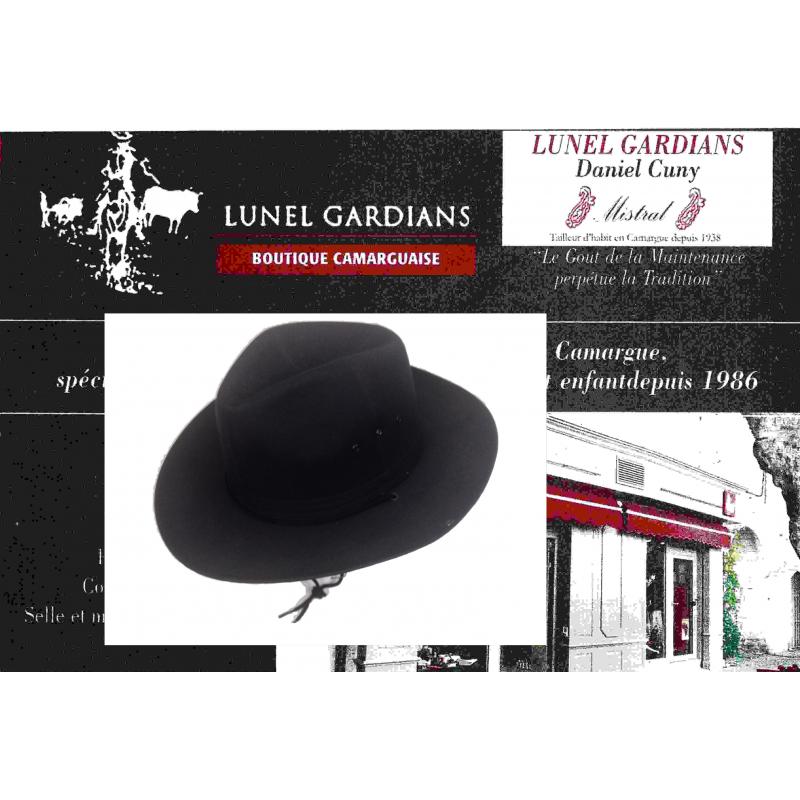 Chapeaux Toile-Pampa noir