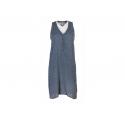 Robe Plume Bleu outr/mer