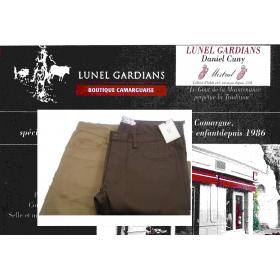 Pantalon moleskine style jeans Homme
