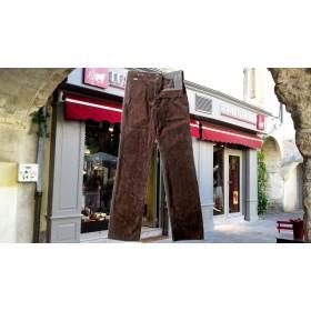 pantalon paysan velours
