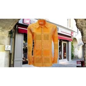 chemise gardian femme mandarine