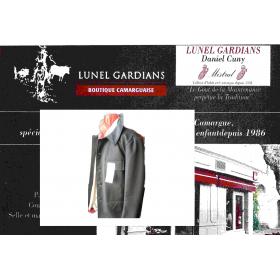"""veste coltin -tissus """"côte de cheval"""""""