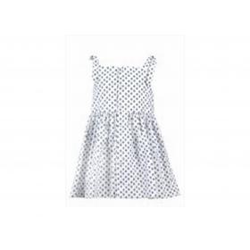 Robe Enfant Calanque.salicorne-blanc/bleu