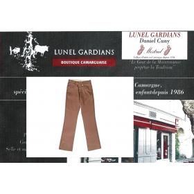 pantalonsde gardians enfant -chocoat