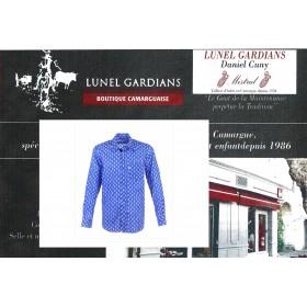 Chemise Calisson Bleu Royal