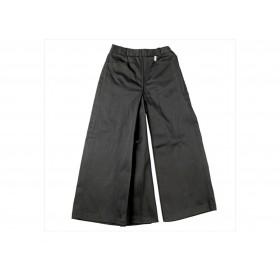 jupe culotte moleskine enfant noir
