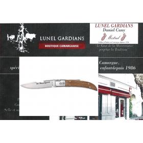 couteaux le camarguais n°12 le chêne