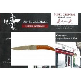 couteaux le camarguais n°12 la loupe de bruyére