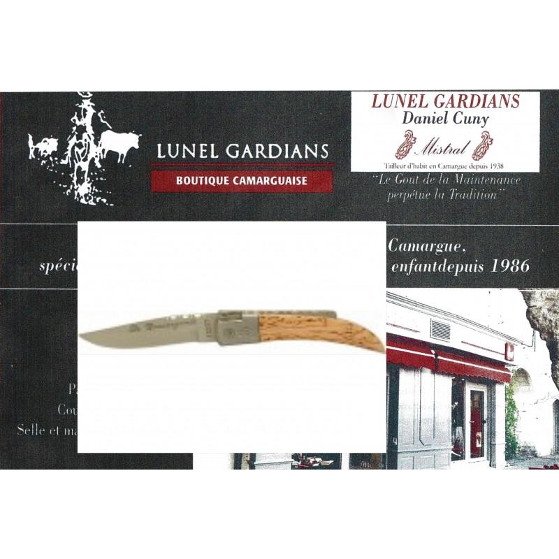 couteaux le camarguais n°12 bouleau