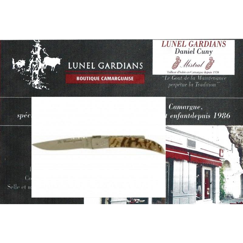 couteaux le camarguais n°12 la corne de bélier