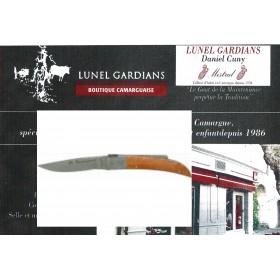 couteau le camarguais n°10 la loupe de bruyére