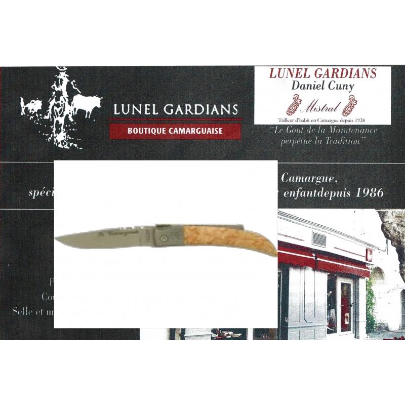 couteau le camarguais n°10 le bouleau
