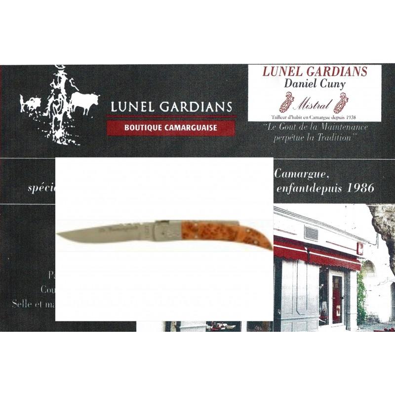 couteau le camarguais n°10 le genévrier