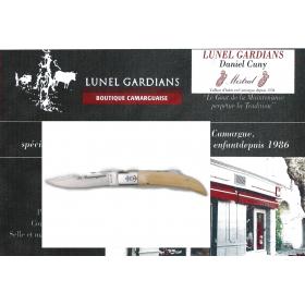 couteaux le Camarguais N° 10 Buis