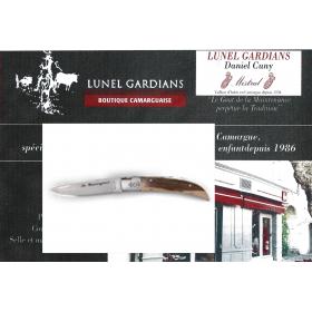 Couteaux le Camarguais N°10 Pistachier