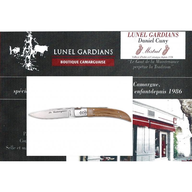 Couteaux le Camarguais N°10 Tamaris
