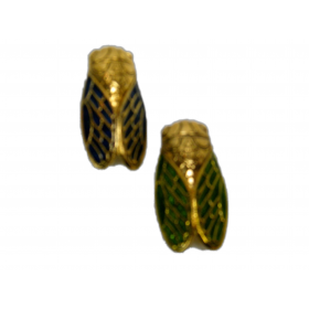 Broches Cigale Bicolore GM