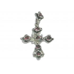 Bijoux de Provence CROIX N°1 rubis