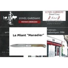 """Couteau-Le Pliant""""Manadier""""corne N°10"""