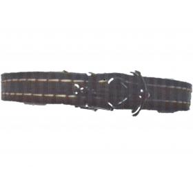 Bracelet cuir-croix