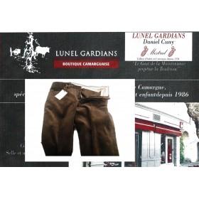pantalon manadier velours marron petite cote