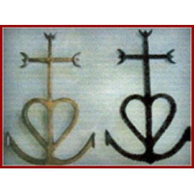 la croix gardianne alu noir