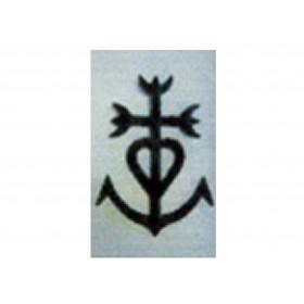 la croix alu noir