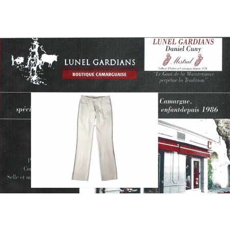 Pantalon de Gardian Moleskine BOULEAU