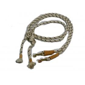 Rènes de caveçon camargue corde