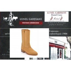 "Botte camarguaise"" Gardian Chair + patin"""