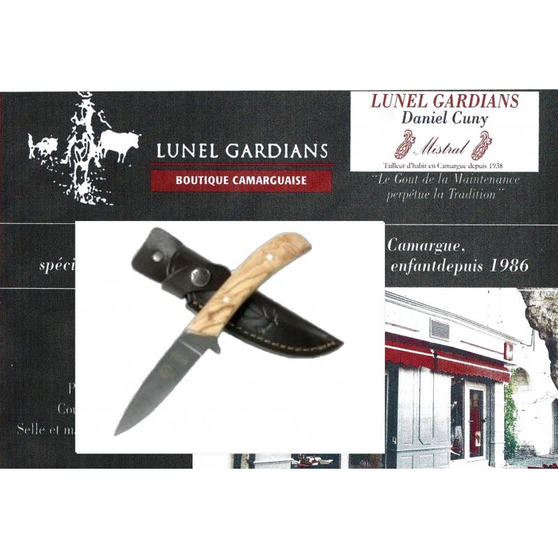 dague de chasse olivier
