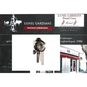 Lanternes noir / nickel