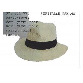 chapeau paille veritable panama BOYER