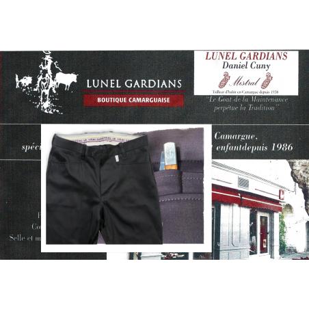 "Pantalon de Gardian Extensible PG ""NOIR"""