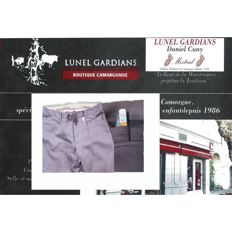 Pantalon Extensble poche monaie GRIS