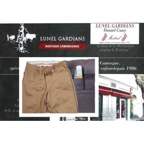 """Pantalon de Gardian Extensible PG""""-noisette"""""""