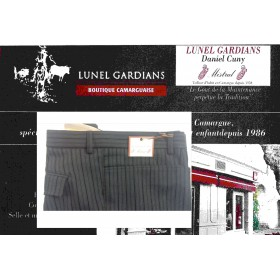 Pantalon PG Extensible rayure GRD-PERE