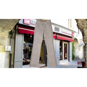 pantalon gardian damier gris