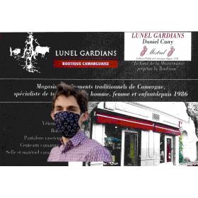 Masque Barriere Camarigo Noir